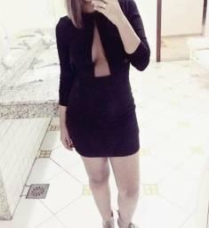 Vestido preto tamanho p