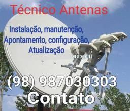 Serviços antenas