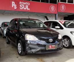 GB - Toyota Etios 1.3 2013, baixo km, apenas 38.000km