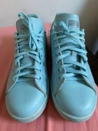 Tênis adidas stan smith azul numeração 36