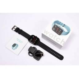 Smartwatch/Relógio Inteligente - P80 - NOVO - Cinza - Entrega Grátis