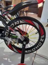 Linda bicicleta aro 16