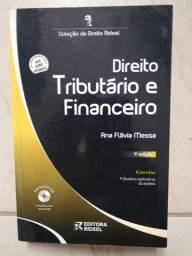 Livro Direito Tributário e Financeiro, Ana Flávia Messa, Editora Rideel