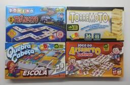 4 Jogos Educativos Terremoto Quebra Cabeça Alfabeto E Dominó
