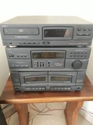 Aparelho de som 3x1 Sony (antigo)