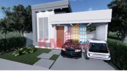 Vende-se casa em fase de construção no Condomínio Veronique - KM IMÓVEIS