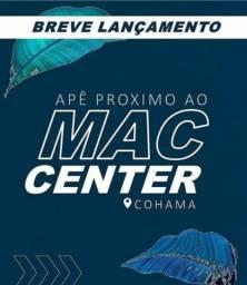 Título do anúncio: P/M: Seu apê próximo ao Mac, com elevador