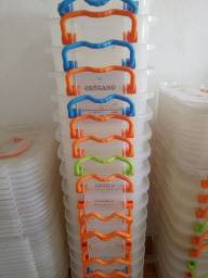 Potes Cereais Plástico