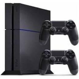 Ps4 Playstation 4 Fat 500 Usado com headphone,3 jogos fisicos e mais de 100 digitais