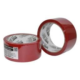 Título do anúncio: Fita Adesiva Vermelha 45MX45MMX40MIC Bfh2096