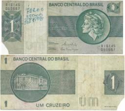 Cédula antiga Cr$ 1,00