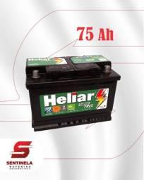 Bateria Heliar 75 Amperes - Entrega e Instalação Gratuitas