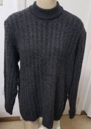 Blusão cinza escuro túnica G