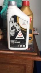 Vendo óleo de carro aparti de 25,00 reais