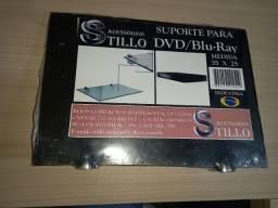 Suporte Fixo de Parede para DVD / Blu-Ray