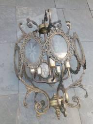 Lustre de Bronze belíssimo