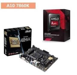 Kit GAMER AMD A10 7860k com placa de video integrada