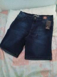 Bermuda jeans blackout a venda!