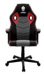 Cadeira gamer hunter vermelha EG-903 Evolut (Promoção)