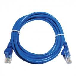 Patch cord utp cat5e 26awg 2.5m azul