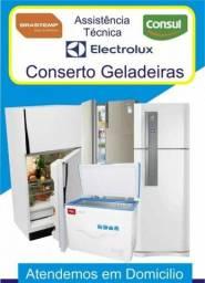 Consertos de geladeiras 100reais gás em geladeiras