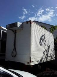 furgao bau camara fria para caminhão 3/4  gancheiro 4.30 mts