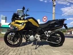 BMW F750 GS com apenas 1200 kms!!! Estudo trocas.