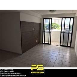 Título do anúncio: Apartamento com 3 dormitórios para alugar, 100 m² por R$ 1.700/mês - Aeroclube - João Pess