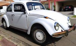 VW Fusca 1976 placa preta