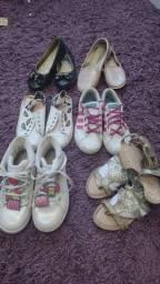 Lotinho de calçados infantil 150.00