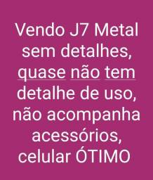 Vendo Celular J7 Metal