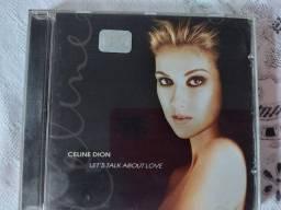 Cd Celine Dion Lets talk about Love