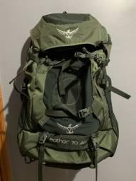 Mochila Osprey Aether AG 70 Litros com Daypack NOVA