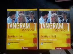 Livros Tangram aktuell 1 (lições 1 a 8)