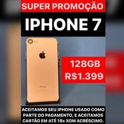 Título do anúncio: iphone  7 128 gold