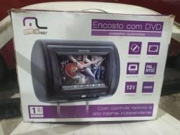 Vendo um encosto com DVD está na caixa e no plástico