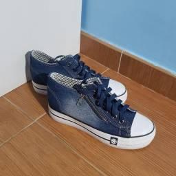 Tênis jeans Mengsai