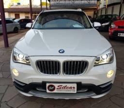BMW X1 SDrive 2.0T X-Line Ative 2015 brca com teto e interno em caramelo!!!!