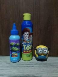 Sabonete líquido e shampoo 2 em 1 tou story