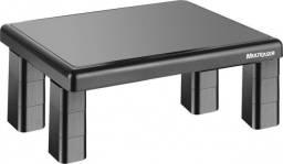 Suporte para monitor - quadrado ac125 preto - 4 niveis de ajuste