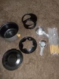 Panela fondue usado uma vez