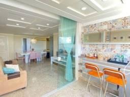 Apartamento de 114m² vista mar/02 suítes/Nascente e projetado (TR81662) MKT