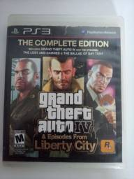 Título do anúncio: Disco de Ps3 jogo GTA 4