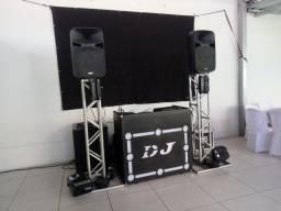 SOM - LUZ - DJ - TELÃO - TRIO ELÉTRICO