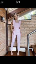 Macacão rosa