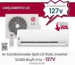 AR condicionado LG Dual Inverter 110v
