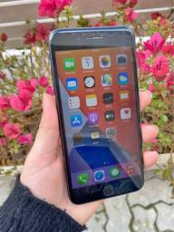 Iphone 7 Plus preto 128gb-Troco PS4