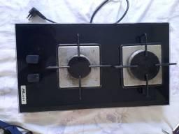Fogão elétrico a gás de vidro