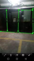 Porta janela alumínio 3,02 x 2,00