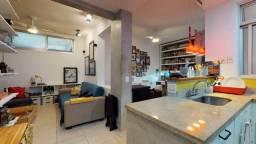 Apartamento com 1 dormitório à venda, 43 m² por R$ 450.000 - Laranjeiras - Rio de Janeiro/